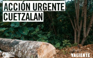 Frente al asesinato de Manuel Gaspar integrante del MIOCUP, Cuetzalan