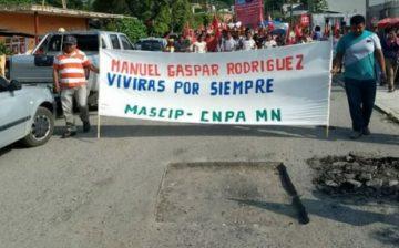 Se condena el asesinato de Manuel Gaspar Rodriguez, defensor de la tierra y territorio de Cuetzalan