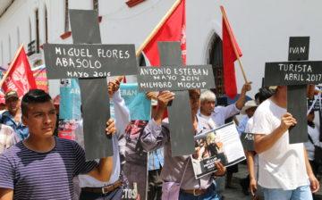 Pronunciamiento: marcha por la verdad y justicia por los defensores de la tierra y territorio de Cuetzalan asesinados