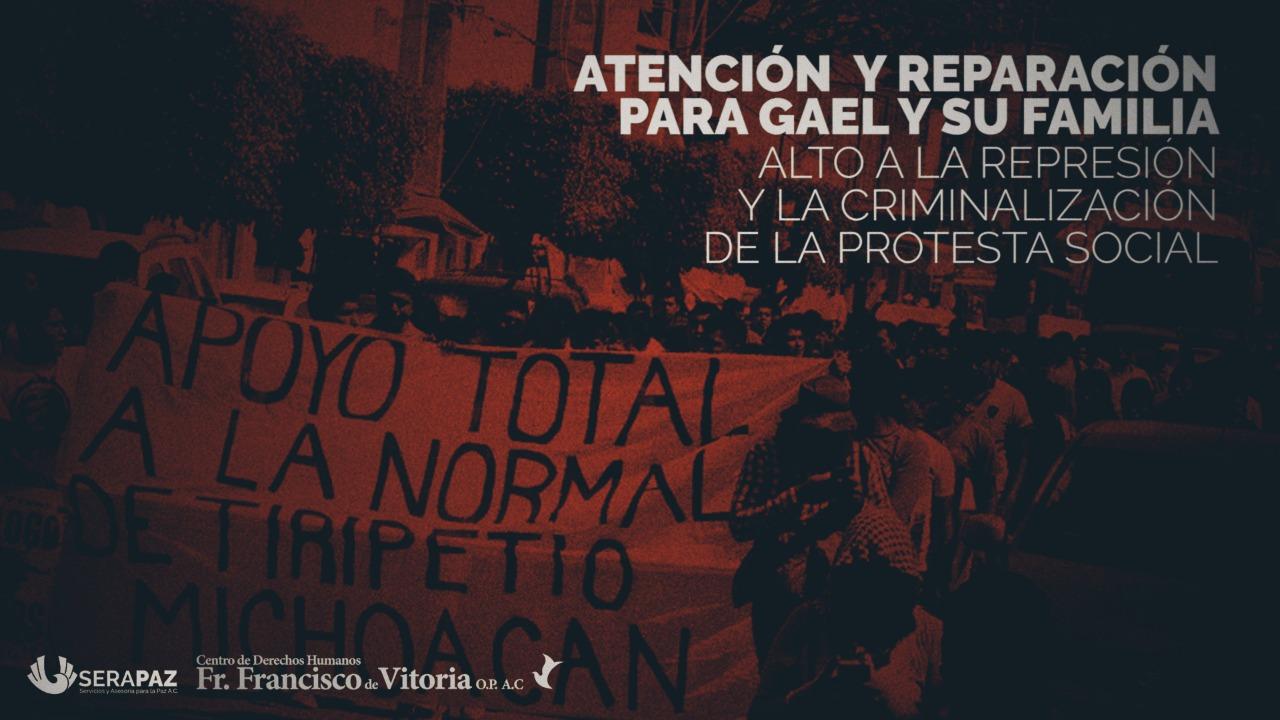Tras un año de la represión en Tiripetío, falta respuesta efectiva de instituciones de gobierno