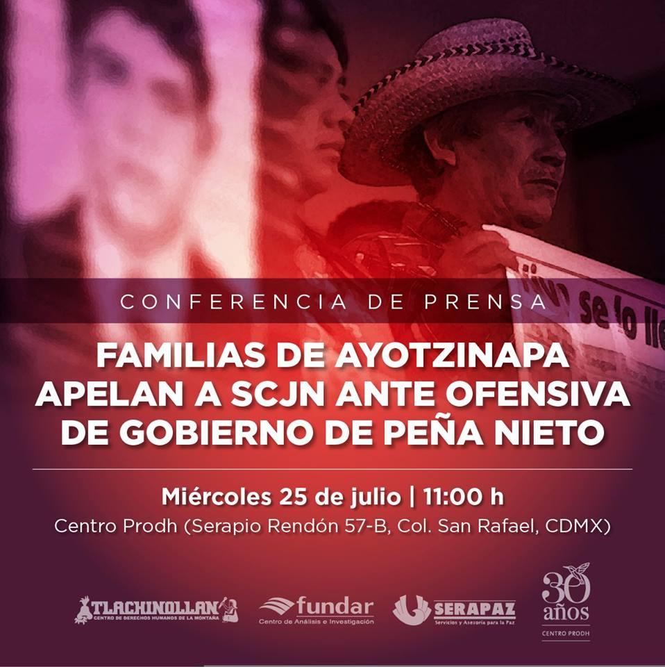 La Corte debe ser valiente y estar con la verdad: familias de Ayotzinapa