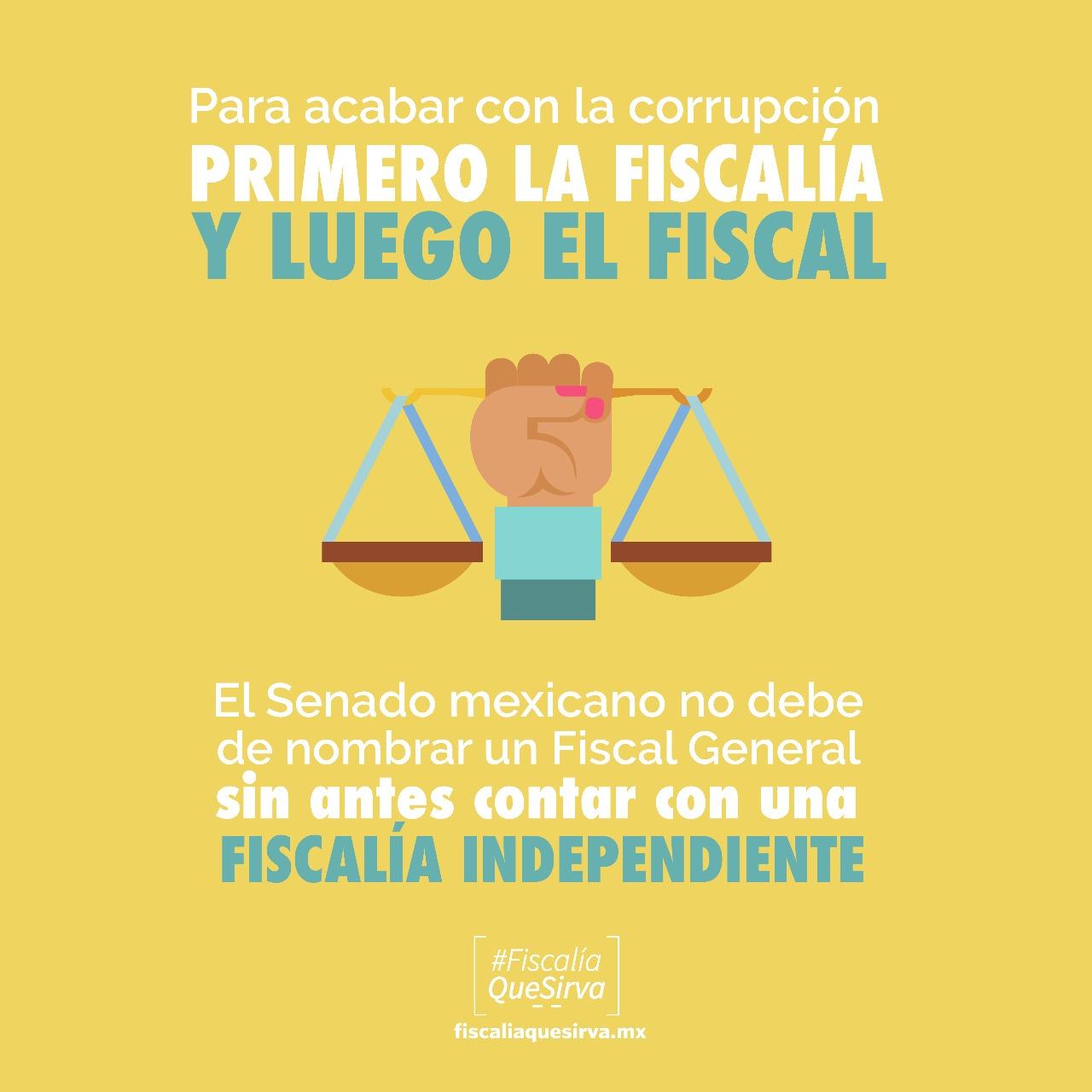 Para acabar con la corrupción, primero la fiscalía, luego el fiscal