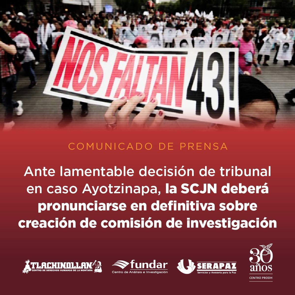 Fallo de Tribunal Unitario atenta contra la verdad y la justicia:  familiares de víctimas y organizaciones