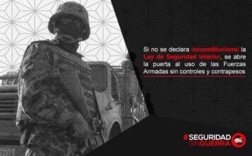 Colectivo Seguridad Sin Guerra entrega carta a la SCJN