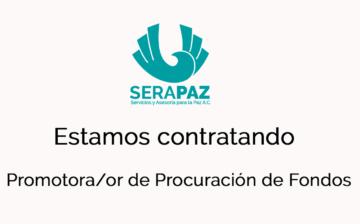 Convocatoria: puesto de Promotor/a de Procuración de Recursos