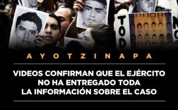 Ayotzinapa: Nueva información confirma la necesidad de investigar el papel del Ejército en el caso