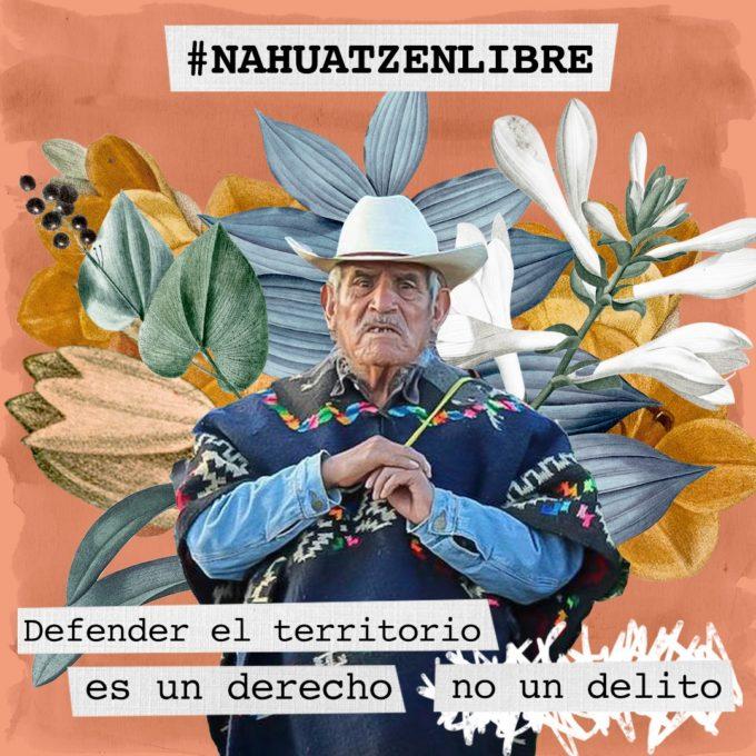 Defender el territorio es un derecho, no un delito. Nahuatzen Libre