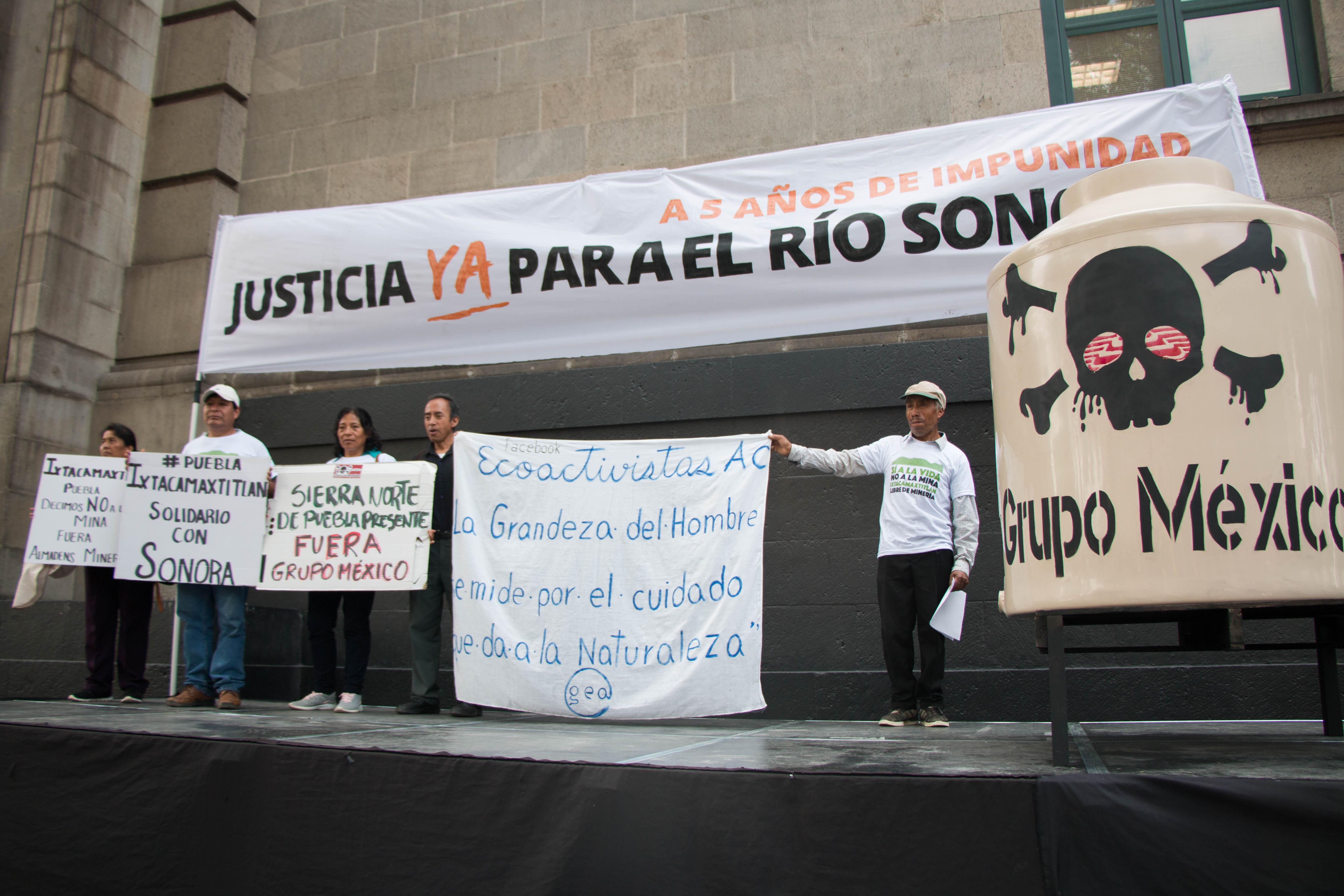COMUNIDADES AFECTADAS POR DERRAME DE GRUPO MÉXICO EN 2014 EXIGEN A SCJN REABRIR EL FIDEICOMISO RÍO SONORA HASTA REPARAR TODOS LOS DAÑOS