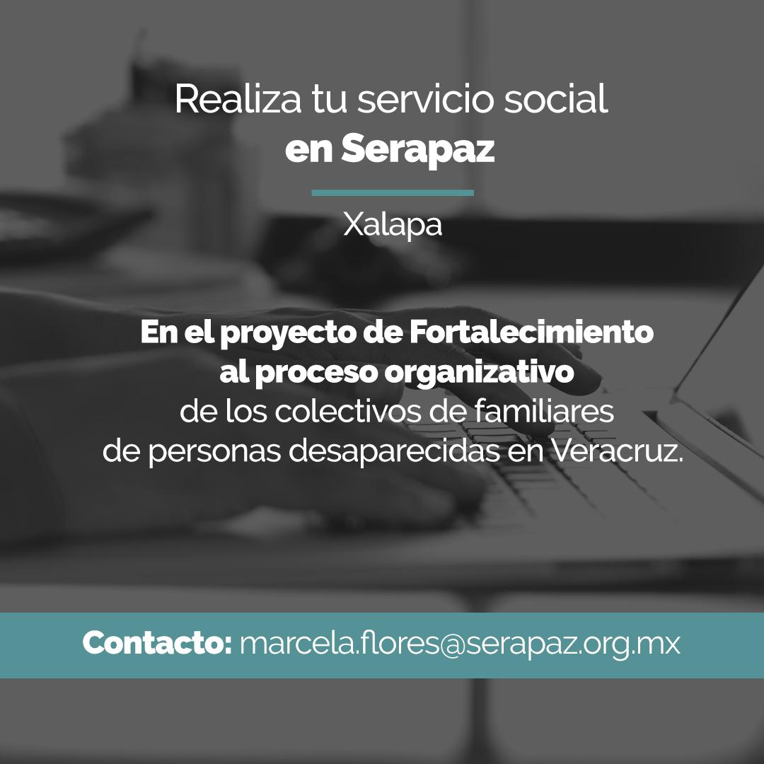 Realiza tu servicio social en Serapaz
