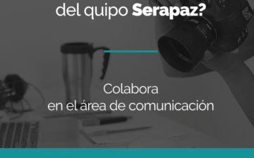 Vacante para colaborar en el área de comunicación