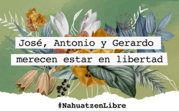 Libertad a los presos políticos de Nahuatzen, Michoacán