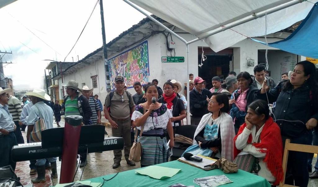 SEGUNDO FORO EN DEFENSA DEL TERRITORIO Y LA LIBRE DETERMINACION
