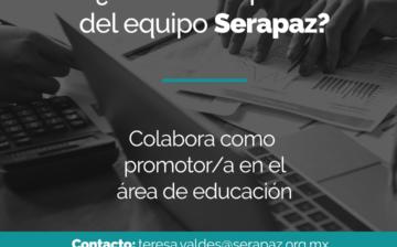 Convocatoria: Promotoría de Educación