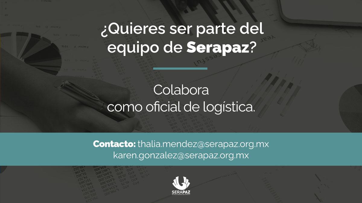 Convocatoria laboral: Oficial de logística.
