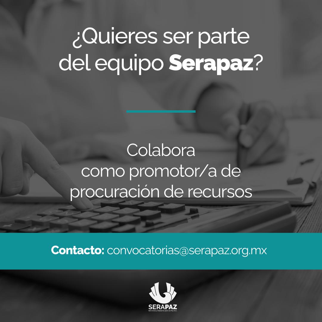 Convocatoria laboral: Promotor/a de Procuración de Recursos
